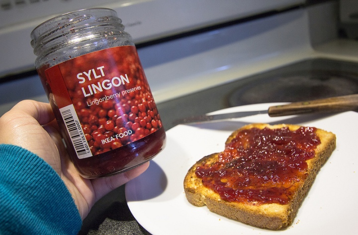 Lingonberry jam can be found at most IKEA stores. In the SF Bay Area ...