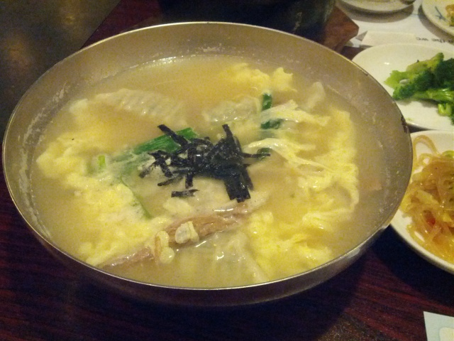 korean dumpling soup