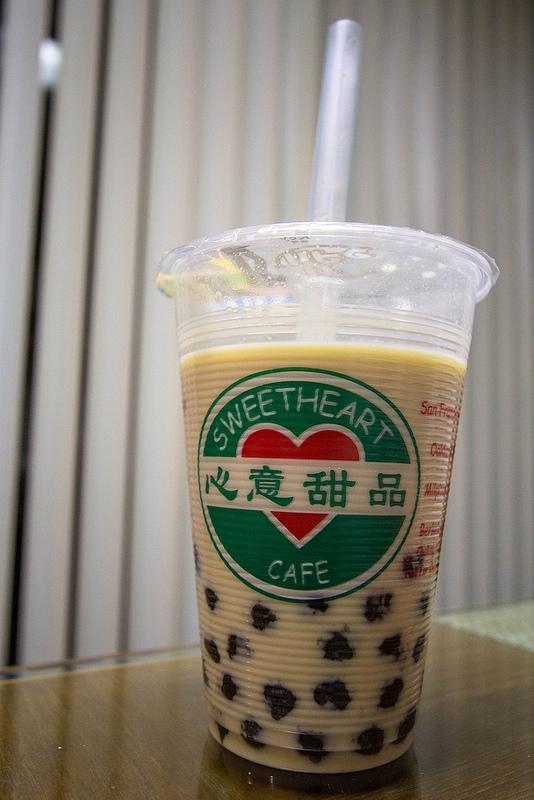 pearl milk tea - 1