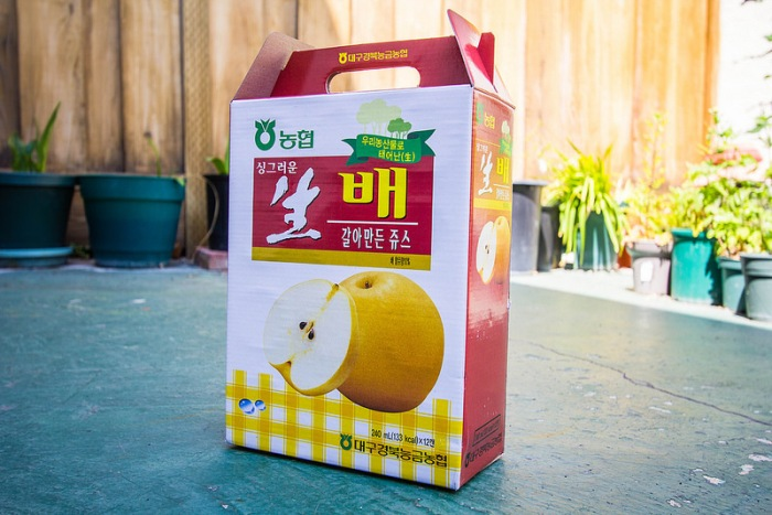 crushed pear drink - 1