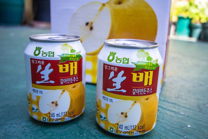 crushed pear drink - 2