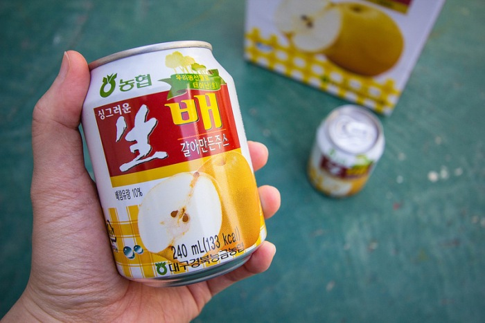 crushed pear drink - 3