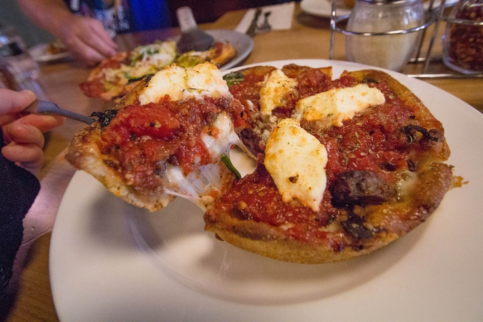 deep-dish pizza - 3