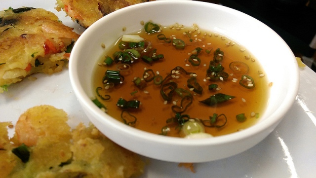 haemul pajeon dipping sauce