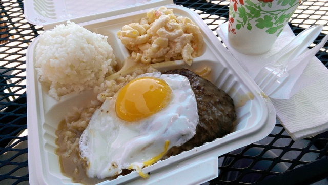 Hawaii Loco Moco Food Touring