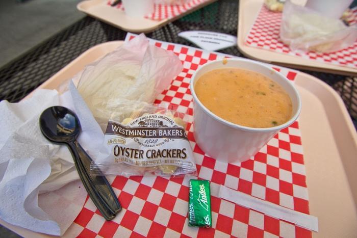 smoked salmon chowder - 1