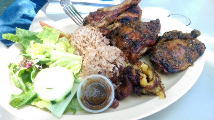 jerk chicken - 1