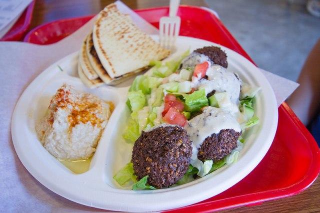 falafel plate - 1