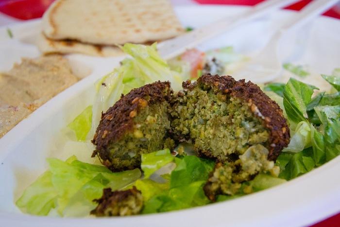 falafel plate - 2